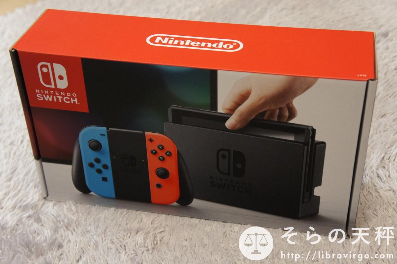 Nintendo Switch 購入しました